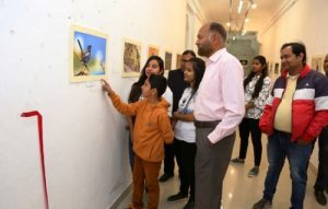 1st photo exhibition of Udaipur's 11 year old wild-life lover