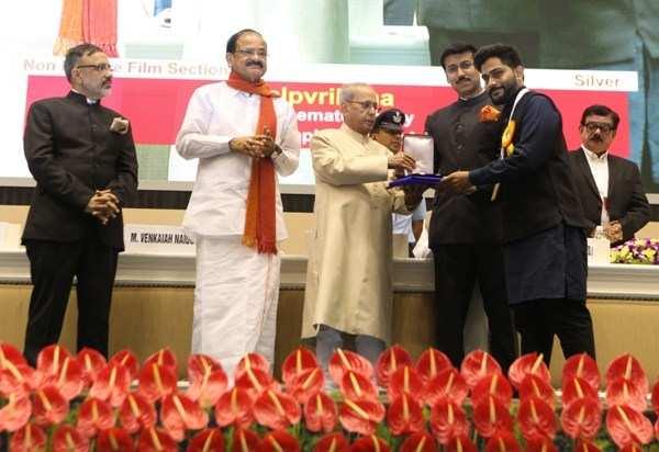 National Award conferred on Udaipur Cinematographer