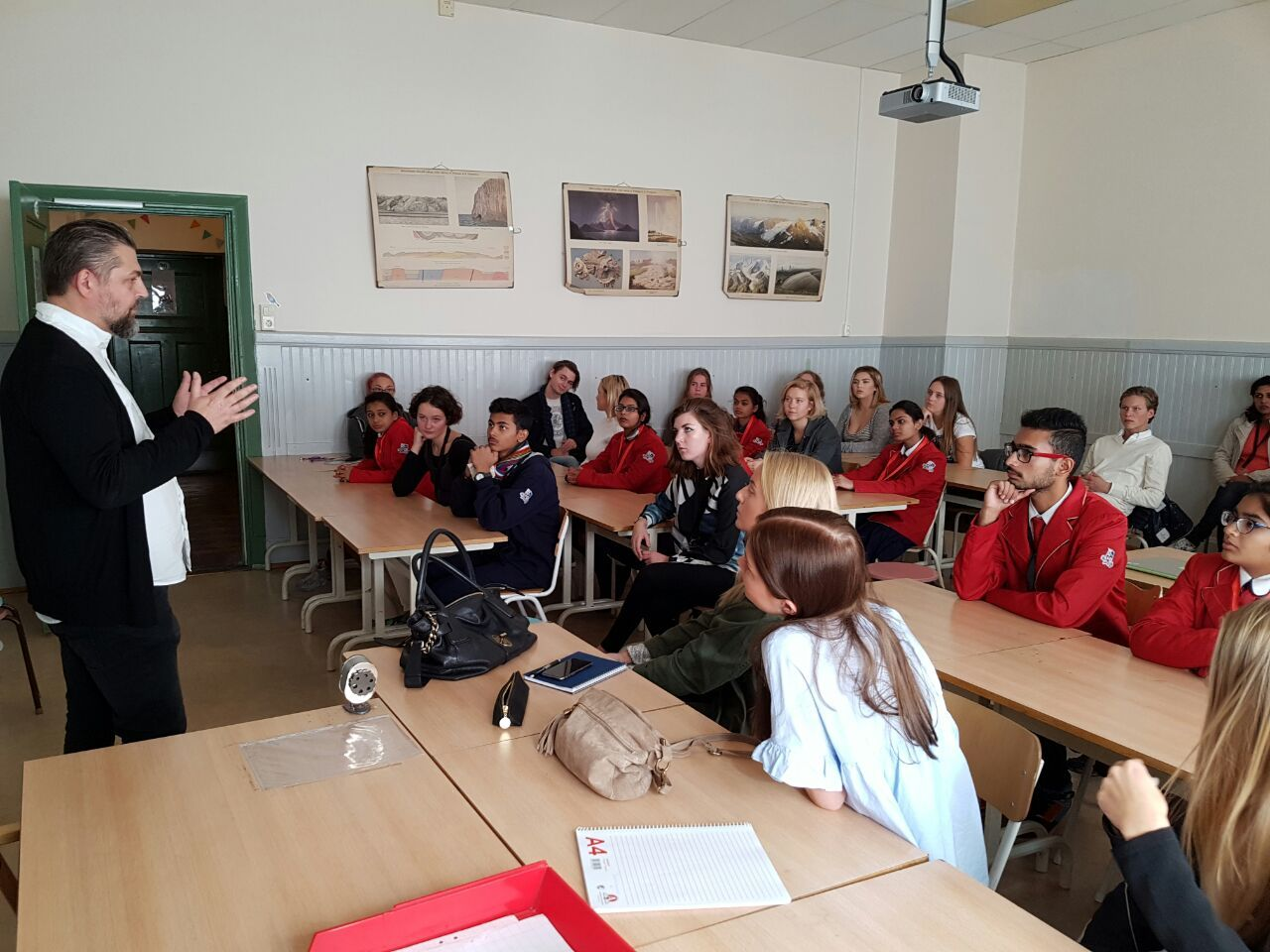 Punctuality and Cleanliness in Sweden impress CPS Students