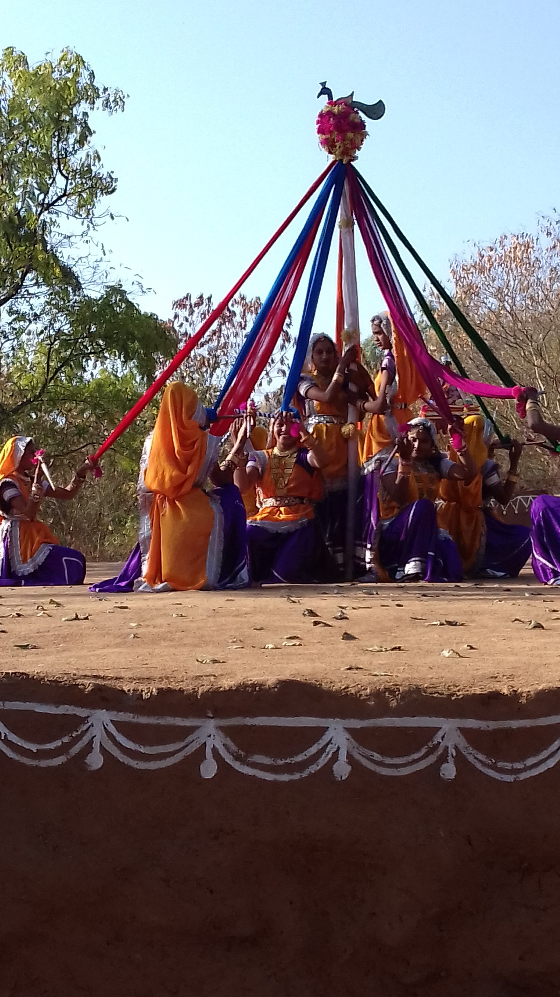 Colours, beauty, style at Shilpgram on 22nd Dec