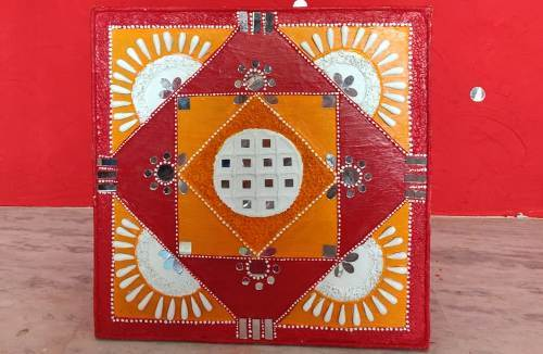 Summer Workshops in Udaipur | Learn Lippan Art, the miracle of Mud and Mirror Work