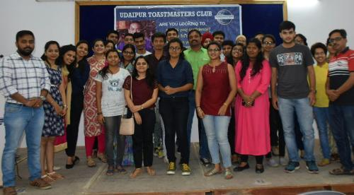 Toastmasters at Udaipur help connect with opportunities ahead