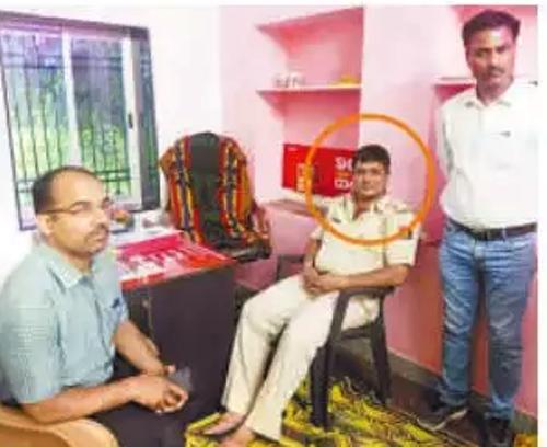 Head constable nabbed taking bribe