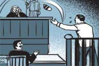 No bail to the man who flung slipper at judge