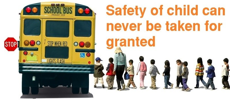 Emphasis on school transport safety-Follow rules strictly