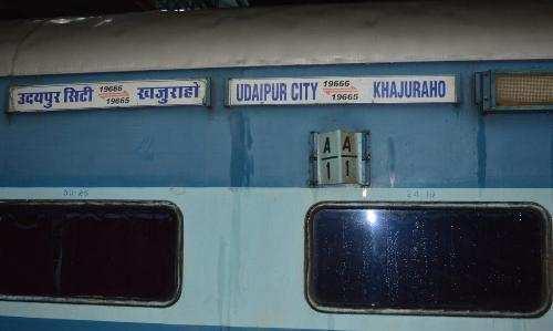 Khajuraho Express getting delayed since 3 months