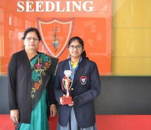 Seedling student Komal Gupta secures second place at International Math Olympiad
