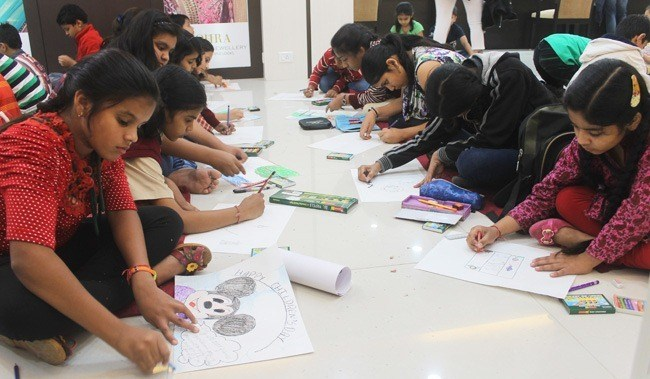 Drawing Competition on Children's Day at TBZ
