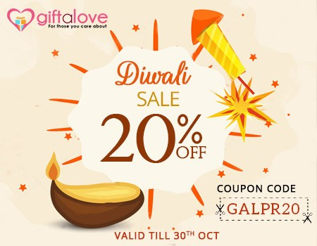 Diwali Gifts – Now Available with 20% OFF at GiftaLove