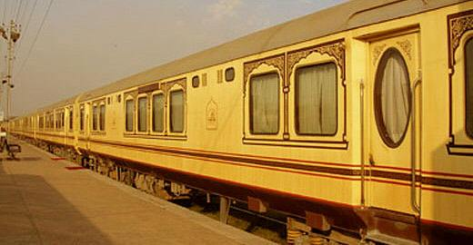 Palace on Wheels in Udaipur on 9th September