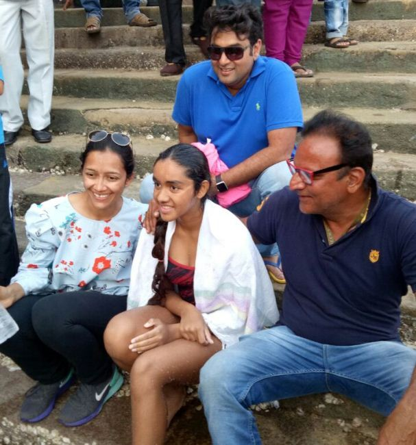Gaurvi Singhvi – 36km High Seas Swim in 6.5 hours | A New Record