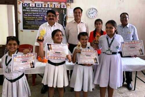 डीपीएस, उदयपुर का लेकसिटी शतरंज प्रतियोगिता में शानदार प्रदर्शन