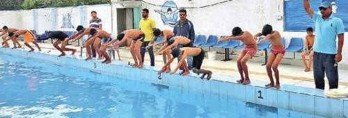 Free swimming coaching for government schools
