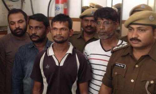 4 arrested for daylight firing