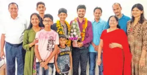 Udaipur boy wins Silver in International Olympiad