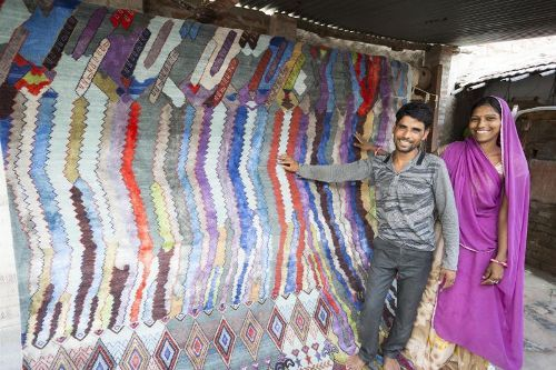 Jaipur Rugs couple win prestigious European Product Design Award