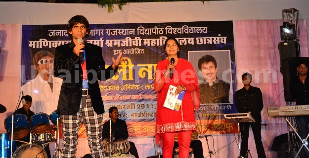 Stand-up Comedian Khayali Performs at Shramjeevi College