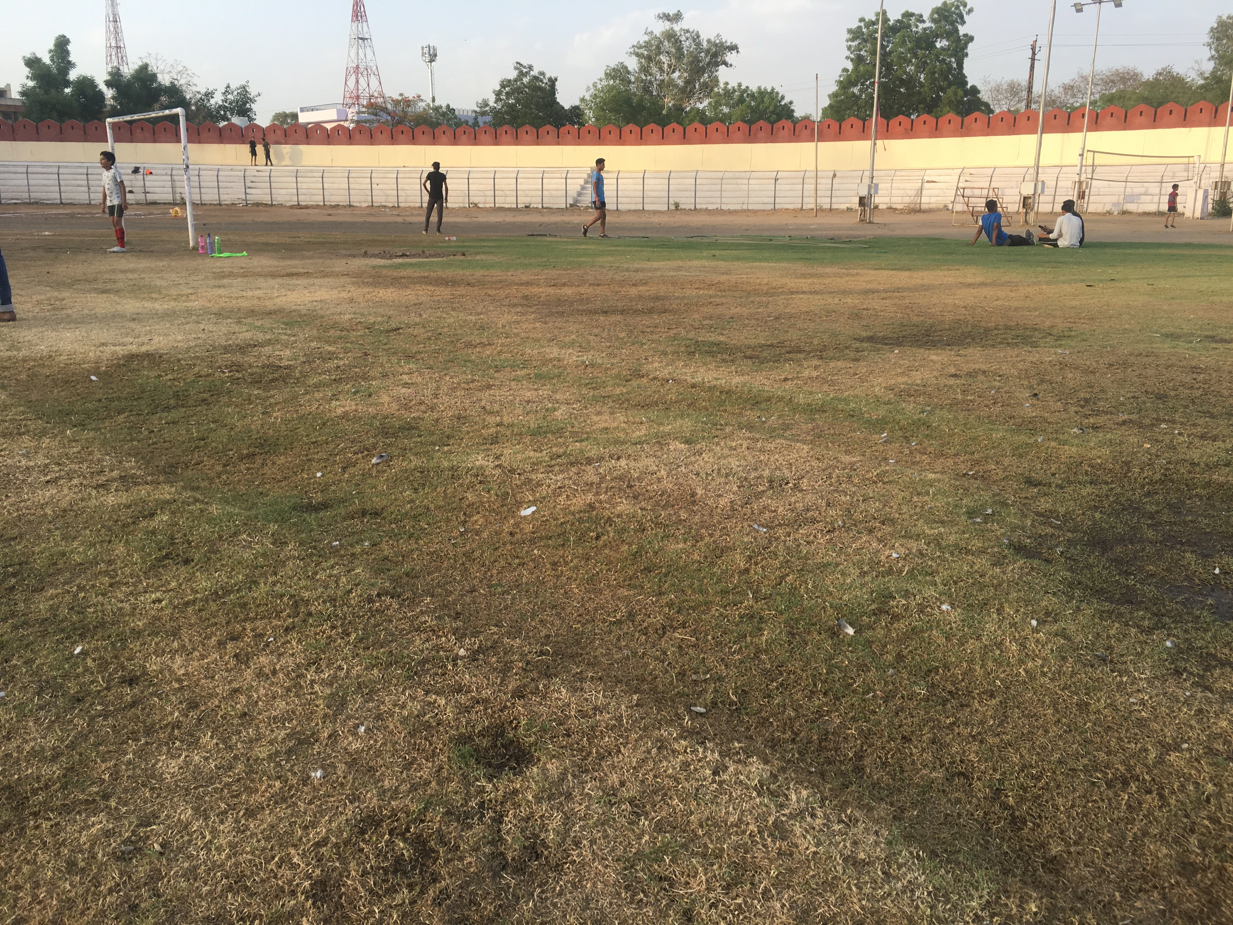 UNHAPPY TALES | Lack of Upkeep and maintenance with alternate use have destroyed the fabric of Gandhi Ground