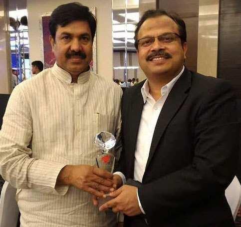 """""""India Today – Visionary of Rajasthan"""" Award for Pavan Kaushik of Hind Zinc"""