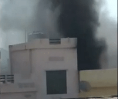 Fire in Chemical plant at Malla Talai