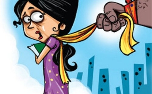 Eve-teasing and harassment during religious event