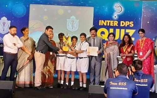 इंटर डीपीएस प्रश्नोत्तरी प्रतियोगिता में उदयपुर का सर्वश्रेष्ठ प्रदर्शन