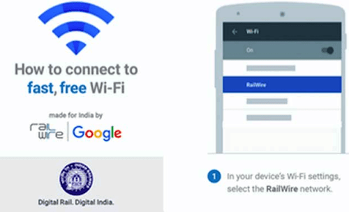 More than 4000 railway stations to have WiFi facility