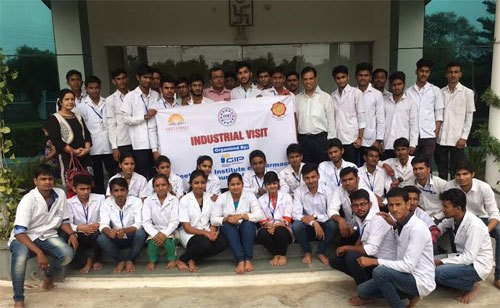 Industrial visit by Geetanjali Pharmacy Students