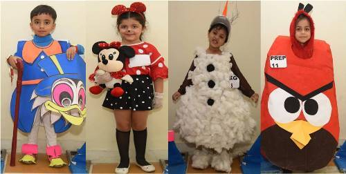 Fancy dress competition at Seedling Nursery