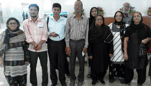 15 people from Udaipur left for Pilgrimage to Karbala