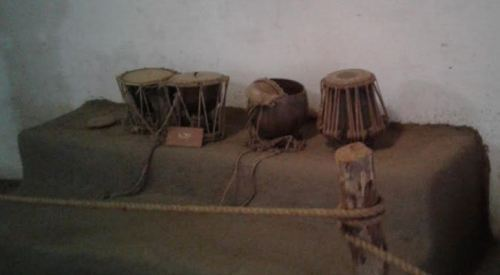 Gol Museum | Traditional Musical Instruments on Display at Shilpgram