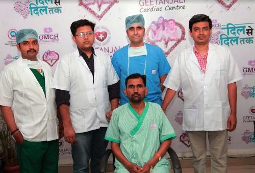 Successful Laparoscopic Procedure helped a man eat well