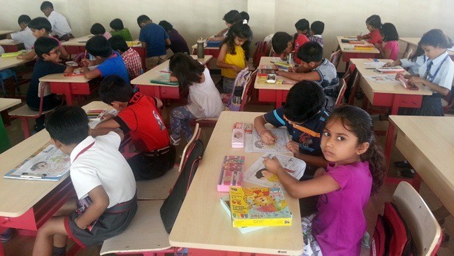 School Kids join Drawing Competition by SIP Academy