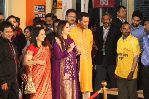 [UT Exclusive Photos] Ambani-Piramal families first evening in Udaipur with Narayan Seva Sansthan