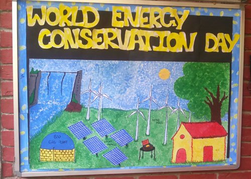 The Study students learn Energy Conservation