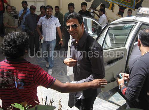 Akshay Kumar in Udaipur for Master Chef Shoot