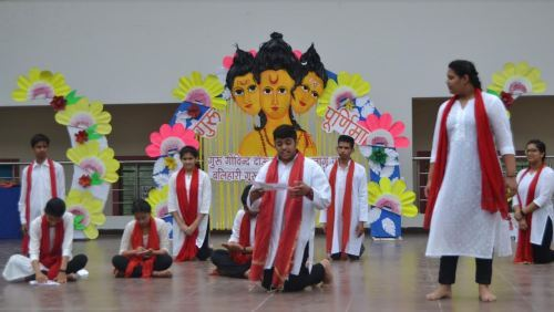 Guru Poornima Celebration in Seedling Modern School