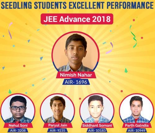 IIT-JEE selections from Seedling Modern – Udaipur