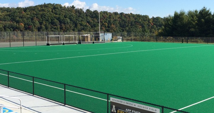 Inspection of hockey AstroTurf-Improvement required