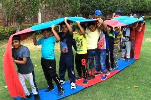 दिल्ली पब्लिक स्कूल, उदयपुर के छात्रों ने मनाया एडवेंचर कैम्प