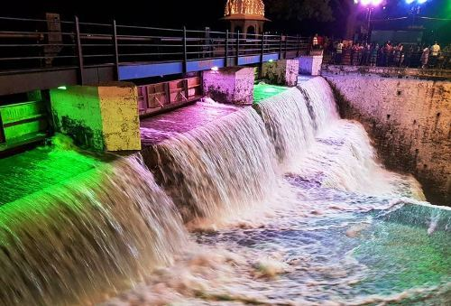Water level rises by 3 feet in Madri dam