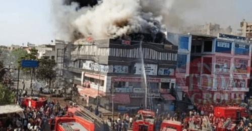 Fire in Surat's coaching complex-21 dead