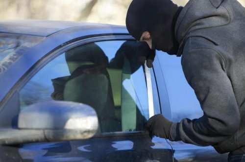 Hyundai Verna car parked outside house stolen