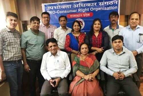 उपभोक्ता अधिकार संगठन- सुराणा सिटी प्रेसिडेंट और मनीषा जैन प्रेसिडेंट वूमेन सेल नियक्त