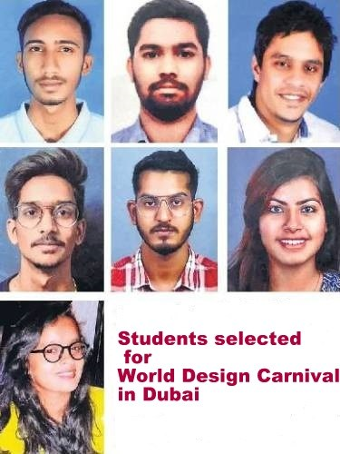 Udaipur students selected for World Design Carnival in Dubai