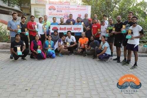 Mewari Runners celebrate Maharana Pratap Jayanti
