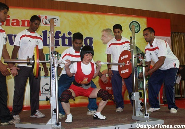 [Photos] Asian Powerlifting Championship Starts in Udaipur