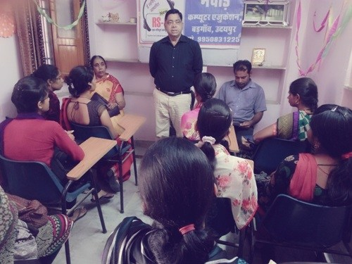 RSCIT Training Centre begins at Badgaon