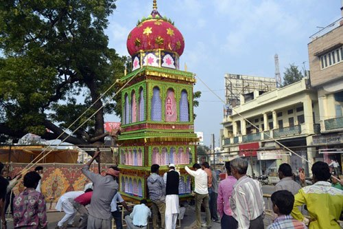 Muslims in Udaipur will not immerse Tazia in Lakes