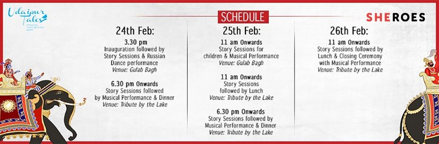 3 Day International Storytelling Festival comes to Udaipur